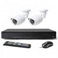 Full HD 720p 04 Channel Jovision DVR With 02 Units Full HD 720p Hikvision Camera (O)